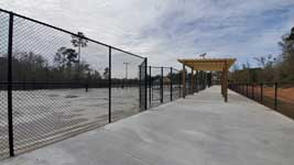 New LBHS Tennis Courts