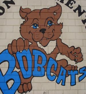 Dayton Elementary Bobcat logo