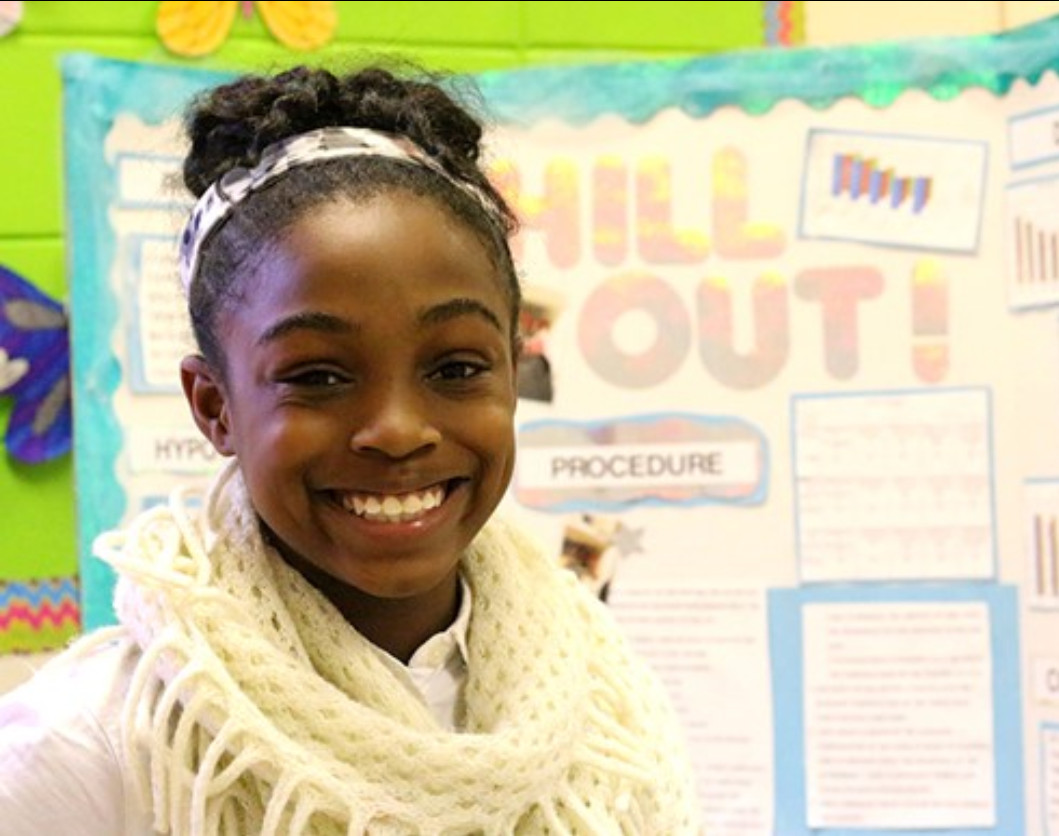 DMS STUDENT EARNS TRIP TO TELLUS WITH SCIENCE FAIR PROJECT