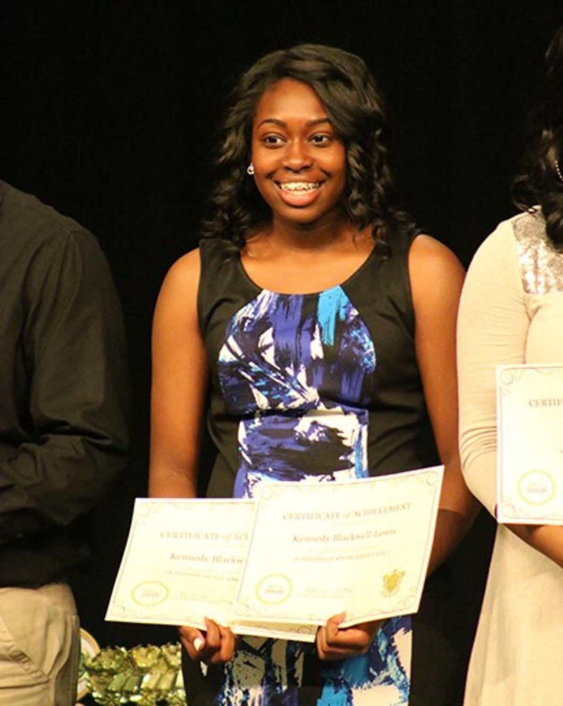 DHS IB student attending Harvard program