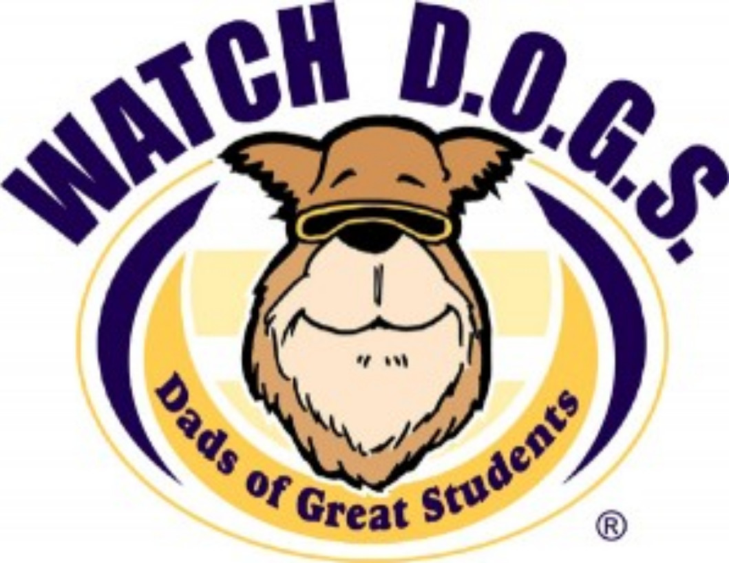WATCH DOGS Dads of Great Students' Logo
