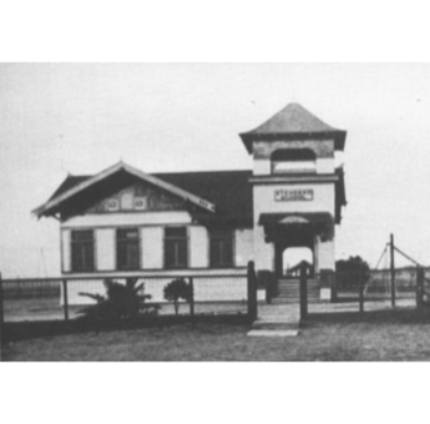 The second building, which is now located at the Kern County Museum.
