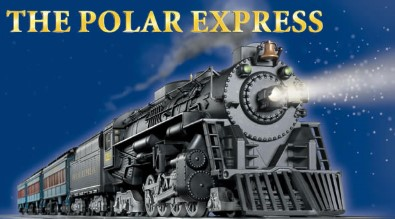 the polar express and train