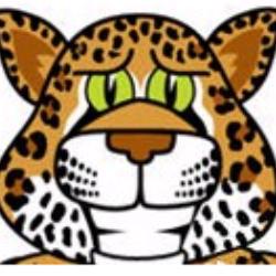 clipart of a cartoon jaguar