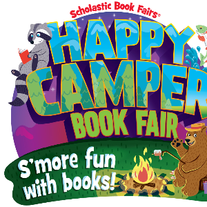 Scholastic Happy Camper Book Fair clipart