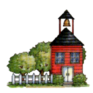 Clipart of school house