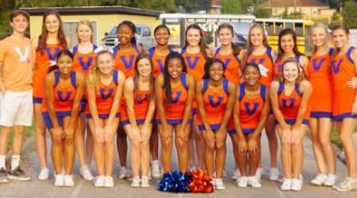 2018-2019 Varsity Cheer Roster