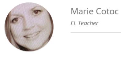 Mrs. Marie Cotoc, ESOL