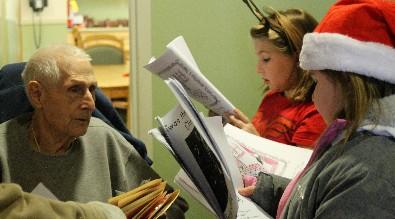 Hickory Grove Third Graders Visit Laurelbrook Landing