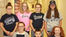 Students showing their Raider Pride during Red Ribbon Week.