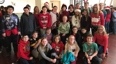 6th Graders Visit Jefferson Manor