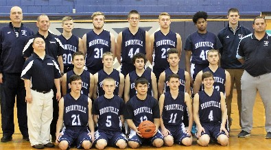 2017-2018 Raiders Boys Basketball Team