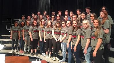 BASD choir members