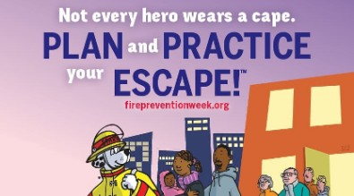 Fire Prevention Week - Protect & Educate Your Kids