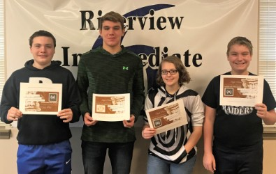 BAHS students participated in the IU6 propaganda competition.