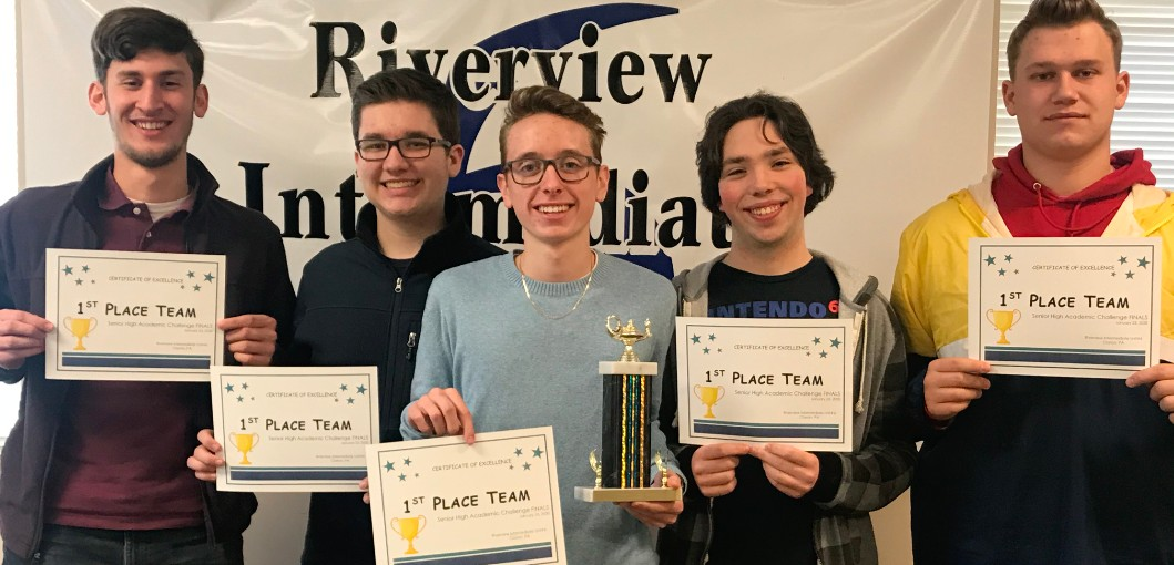 High School Academic Challenge team champions