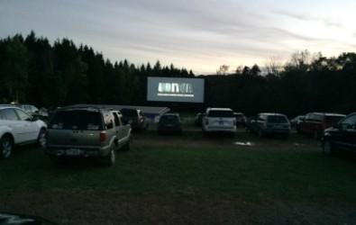 Movie starting at free family movie night.