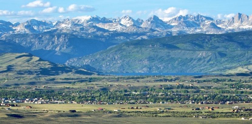 Sublette county landscape