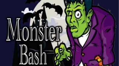 Monster with the words Monster Bash