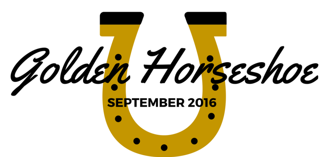 Hayden Rochell Recieves AHS Golden Horseshoe Award for September