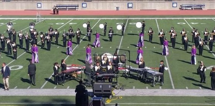 AHS Band Earns 1st Division Rating at UIL Region Marching Contest