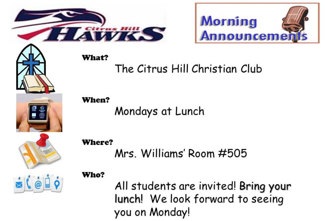 Christian Club