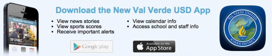 Val Verde USD App