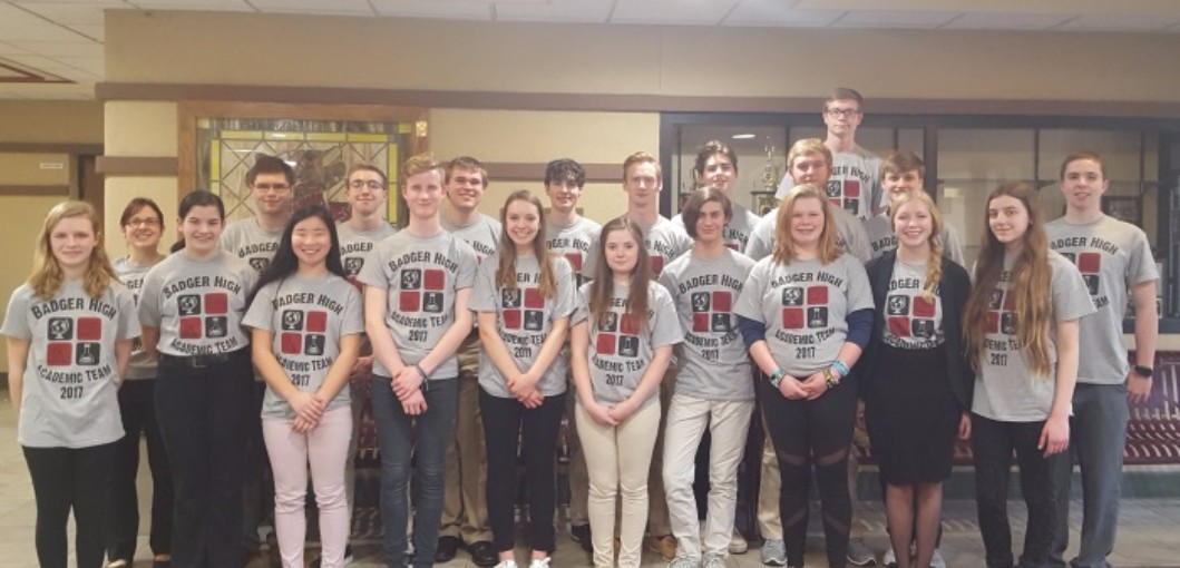 Badger Students Take  3rd at Conference Academic Bowl