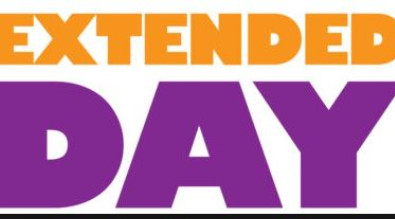 Graphic that says Extended Day