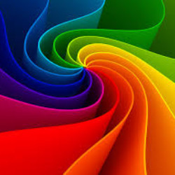 Image of colorful swirl