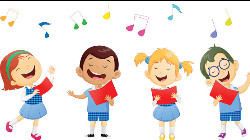 Picture of children singing