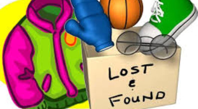Image of Lost and Found items