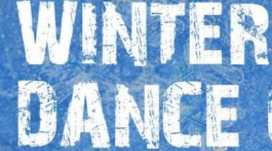Graphic that says Winter Dance