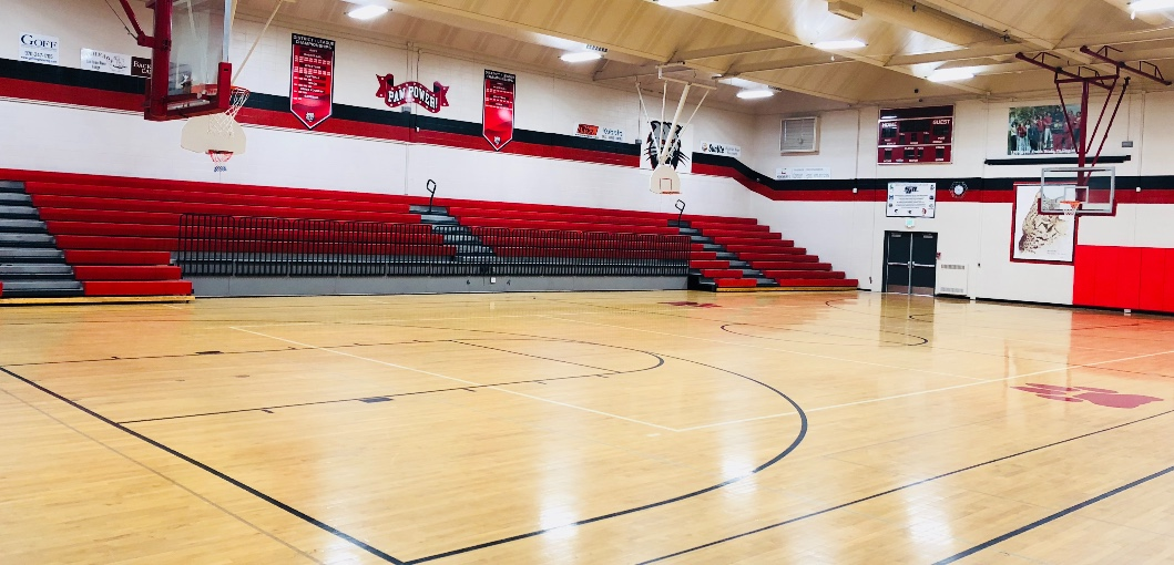Ignacio High School Main Gym and Commons Area