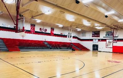 Ignacio High School Main Gym and Commons Area