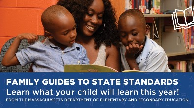 Family Guides: Learn what your child will learn this year! Link to Parent Guides