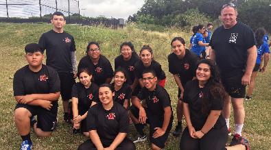JROTC summer camp students