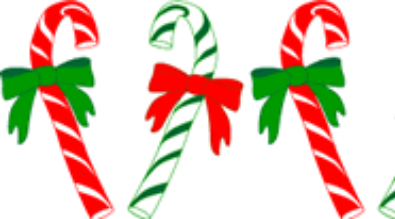 Clipart of candy canes