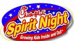 Chick-fil-a spirit night logo
