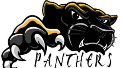 "Clipart of Panther with the words ""Panthers"""