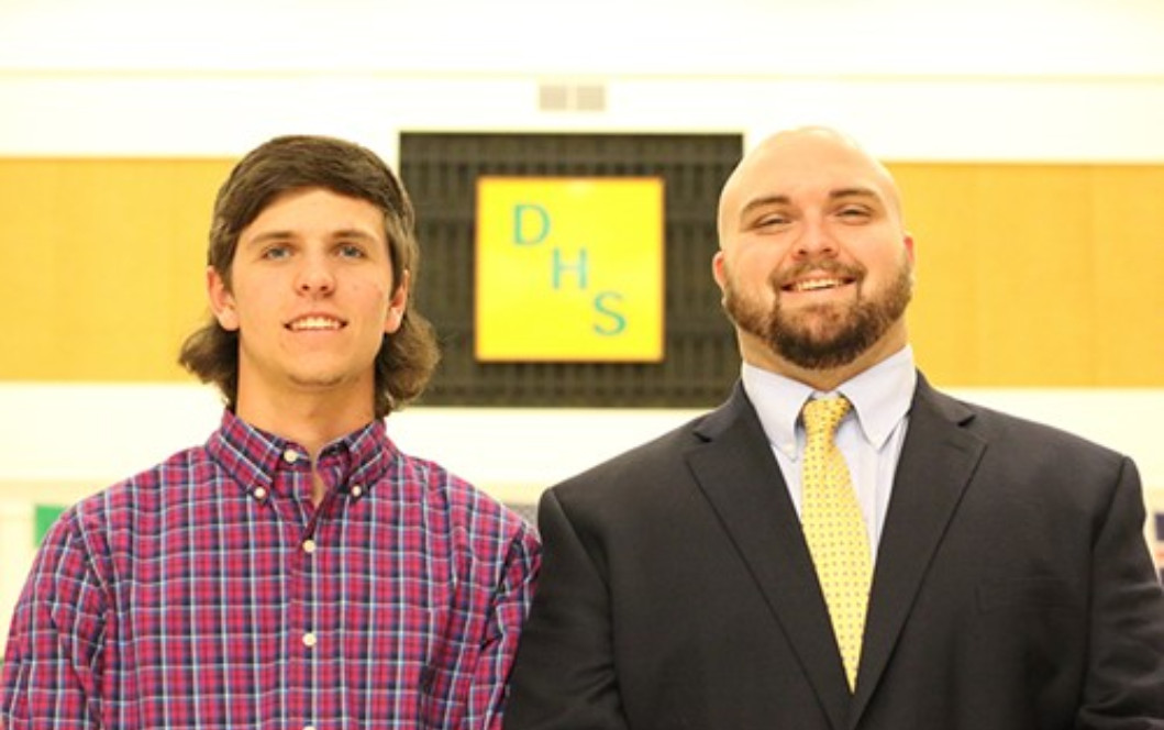 GRAHAM, HELTON NAMED STAR STUDENT, TEACHER