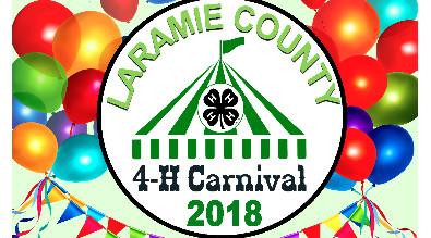 This is a picture of the Laramie County 4-H carnival 2018
