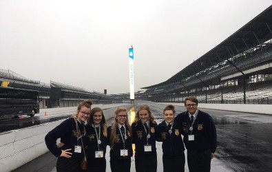 This is a picture of FFA at the Indianapolis Motor Speedway
