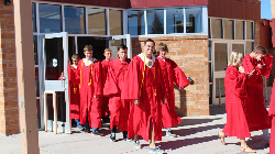 This is a picture of Central graduates touring McCormick