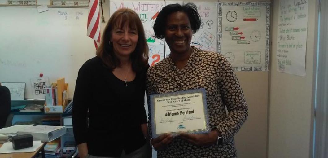 Reading Award of Merit 2016