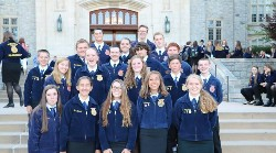 Photo of 2017-18 FFA Students