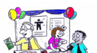 Health Fair Cartoon