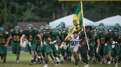 NCHS football team entering field for new season