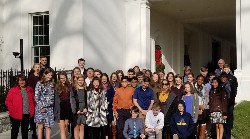 Picture of TAG students visiting Washingon DC