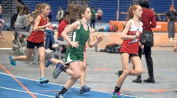 Savanna Lawson runs a long distance event